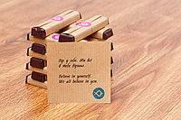 Шоколад з передбаченням поштучно шоколадка подарунки на день народження