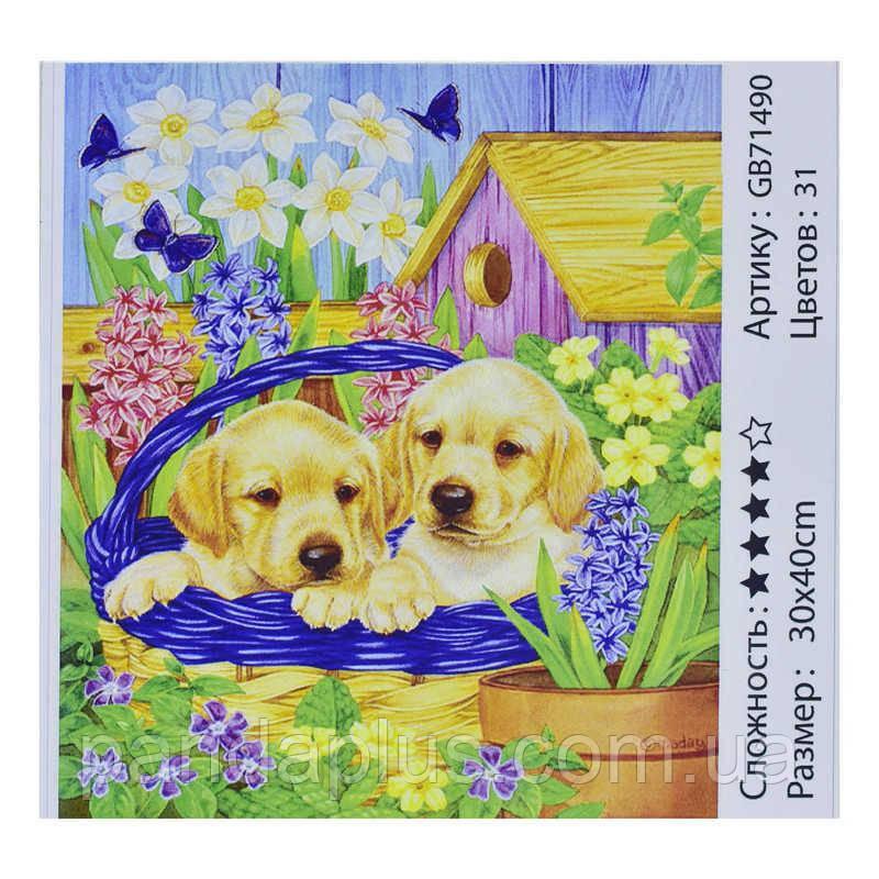 Алмазная мозаика GB 71490 (30) 30х40 см., 31 цвет, в коробке