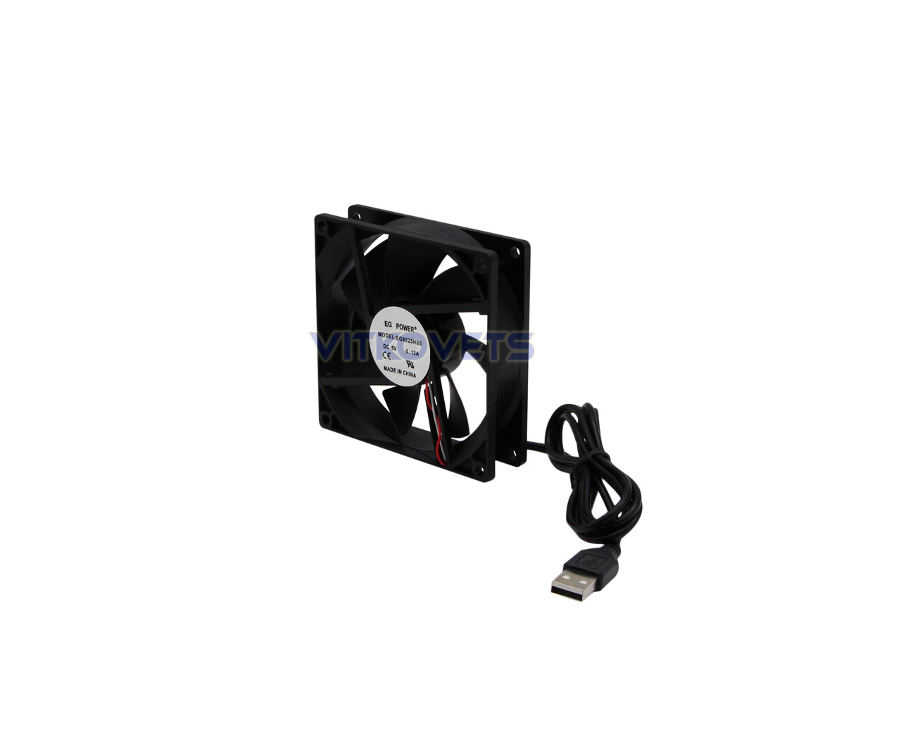 Вентилятор (кулер) EG9025HSS 92х92, 5V, 0.12A (USB)