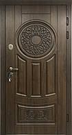 """Входная дверь для улицы """"Портала"""" (Премиум) ― модель АМ7 Patina"""