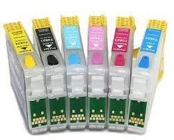 Картриджі для струменевих принтерів (чорнильні)
