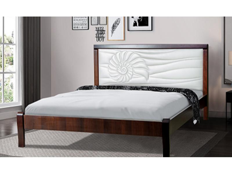 Кровать двуспальная Аква