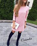 """Платье женское в стиле Шанель """"Париж"""" букле от СтильноМодно  , фото 3"""