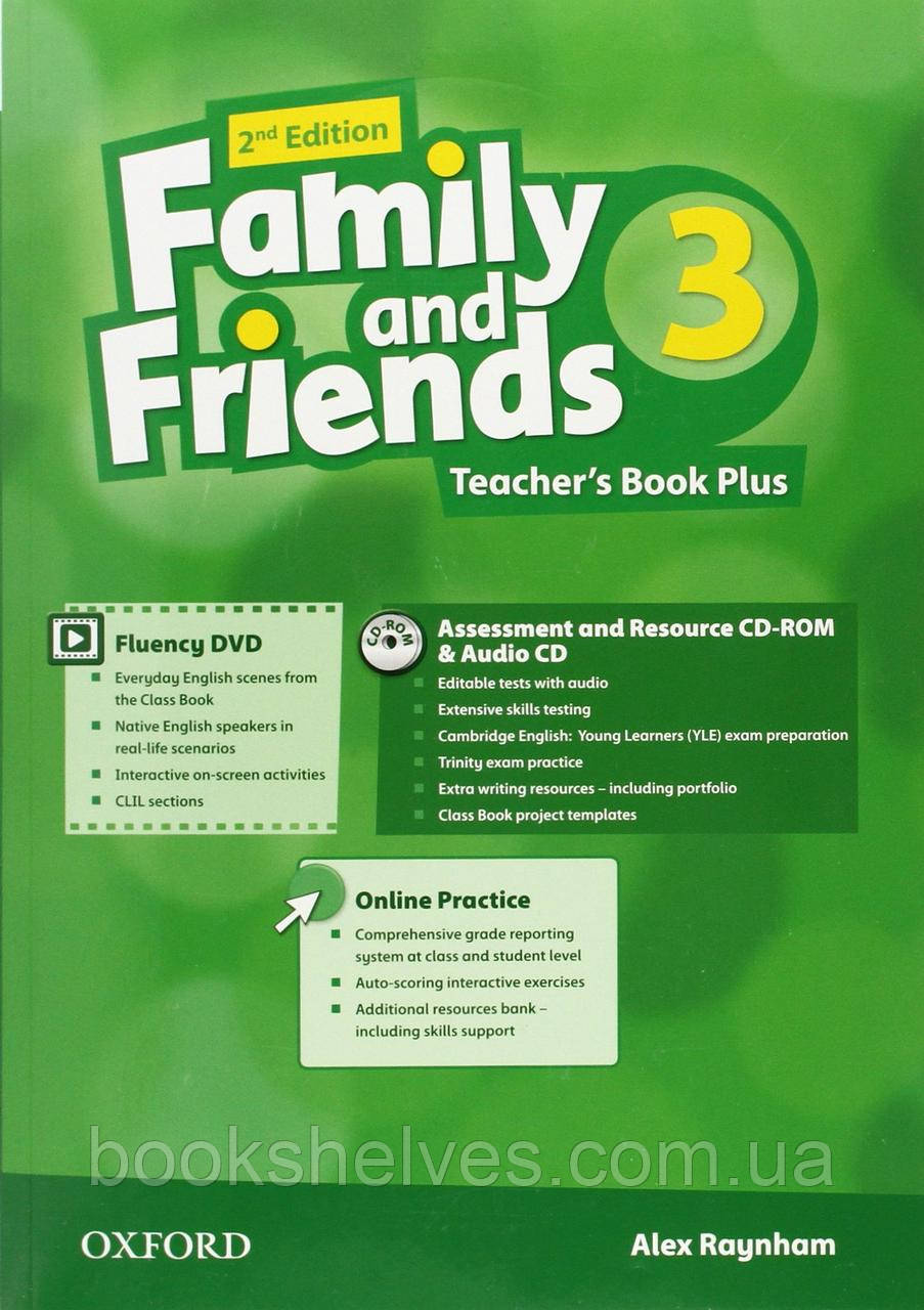 Family and Friends 2nd Edition 3 Teacher's Book Plus + CD-ROM + Audio CD