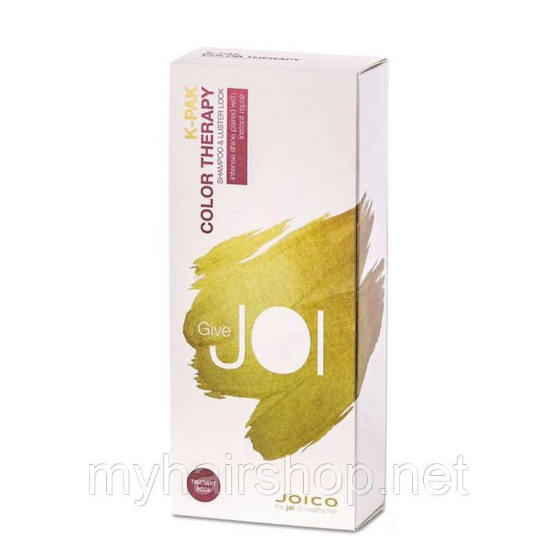"""Подарунковий набір """"Шампунь + Маска для фарбованого волосся"""" Joico K-Pak Color Therapy Glowingly Healthy Hair Unloc"""