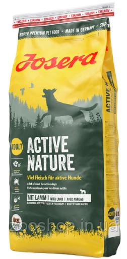 Josera Active Nature корм для взрослых активных собак 15 кг