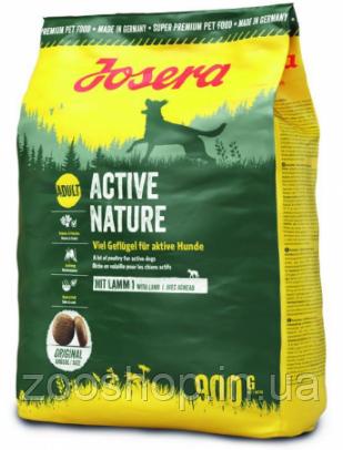 Josera Active Nature корм для взрослых активных собак 900 г