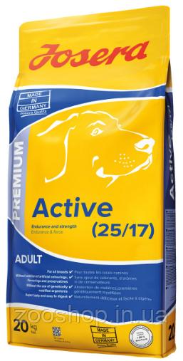 Josera Active Корм для взрослых собак 20 кг