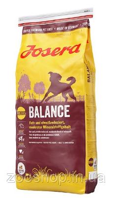 Josera Balance сухий корм для літніх і малоактивних собак 15 кг