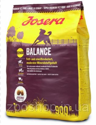 Josera Balance сухой корм для пожилых и малоактивных собак 900 г