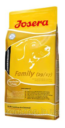 Josera Family  Корм для щенков и кормящих собак 15 кг, фото 2