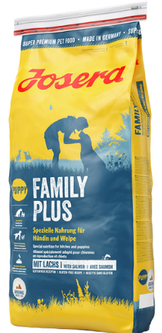 Josera Family Plus сухой корм для щенков, беременных и кормящих собак 15 кг, фото 2