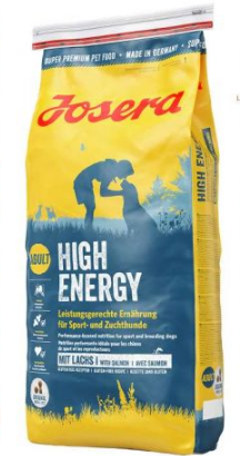 Josera High Energy сухой корм для взрослых собак с повышенной активностью 15 кг
