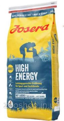 Josera High Energy сухой корм для взрослых собак с повышенной активностью 15 кг, фото 2