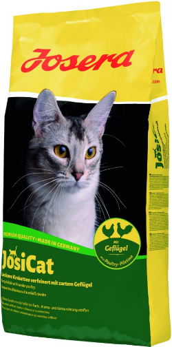 Josera JosiCat Geflugel со вкусом мяса птицы для взрослых кошек всех пород 10 кг