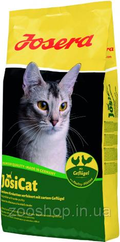Josera JosiCat Geflugel со вкусом мяса птицы для взрослых кошек всех пород 10 кг, фото 2