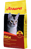 Josera JosiCat Rind полноценный корм из мяса говядины для взрослых кошек всех пород 18 кг