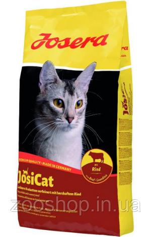 Josera JosiCat Rind полноценный корм из мяса говядины для взрослых кошек всех пород 18 кг, фото 2