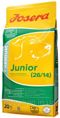 Josera Junior сухой корм для щенков 20 кг, фото 2