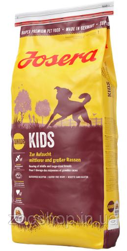 Josera Kids  для щенков и молодых собак 15 кг