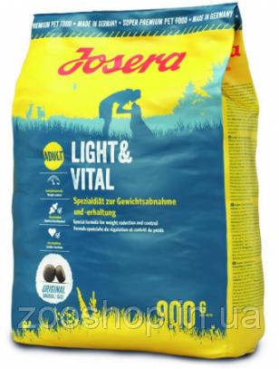 Josera Light & Vital сухой корм для собак с лишним весом 900 г