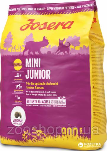 Josera Mini Junior сухой корм для щенков мелких пород 900 г