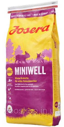 Josera Miniwell корм для собак мелких пород 15 кг