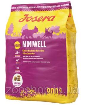 Josera Miniwell корм для собак мелких пород 900 г