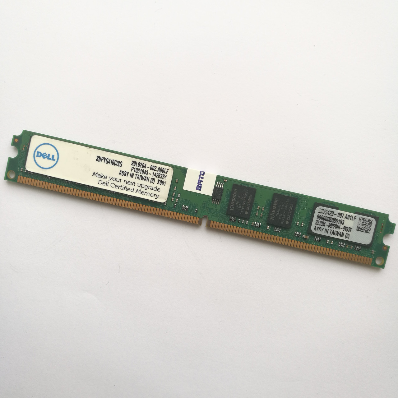 Оперативная память Kingston DDR2 2Gb 800MHz PC2 6400U LP CL6 (99U5429-007.A01LF) Б/У