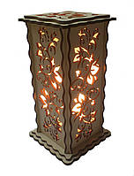 Соляной светильник Прямоугольный Лоза