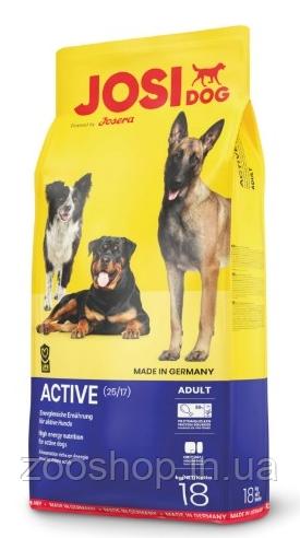 JosiDog Active корм для собак с повышенной активностью 18 кг