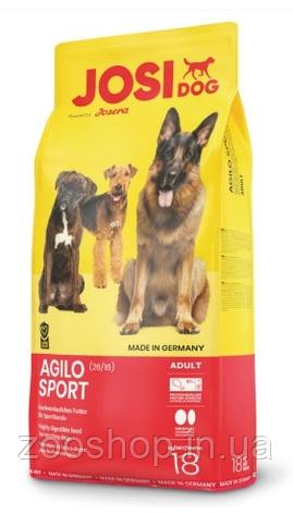 JosiDog Agilo Sport Сухой корм для спортивных собак 18 кг, фото 2