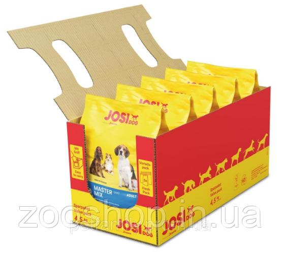 JosiDog Master Mix Adult сухой корм c мясом домашней птицы 4.5 кг