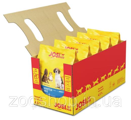 JosiDog Master Mix Adult сухой корм c мясом домашней птицы 4.5 кг, фото 2