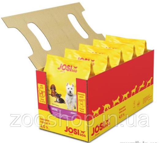 JosiDog Mini Adult сухой корм для собак мелких пород с мясом домашней птицы 4.5 кг