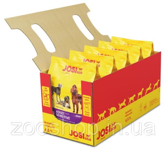 JosiDog Sensitive Adult сухой корм для собак с чувствительным пищеварением 4.5 кг