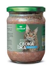 Luncheon Свежая еда для кошек с кроликом 460 г