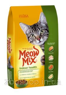 Meow Mix Indoor сухой корм для взрослых кошек 6.44 кг