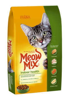Meow Mix Indoor сухой корм для взрослых кошек 6.44 кг, фото 2