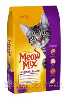 Meow Mix Original Choice сухой корм для взрослых кошек 9.98 кг, фото 2
