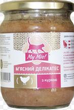My Mio! Мясной деликатес c курицей 500 г