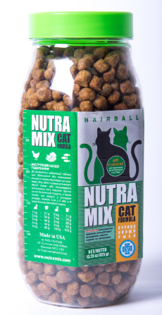 Nutra Mix Hairball сухой корм для взрослых кошек 0,375 кг, фото 2