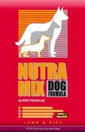 Nutra Mix Lamb and Rice сухой корм для аллергичных собак 22.7 кг