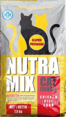 Nutra Mix Maintenance сухой корм для взрослых котов 9.07 кг, фото 2