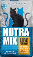 Nutra Mix Seafood сухой корм для взрослых кошек 9.07 кг