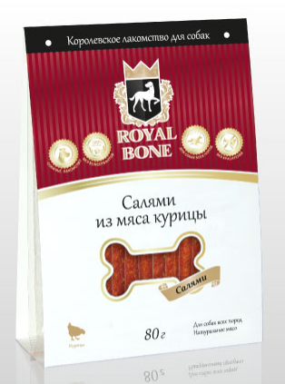 Royal Bone салями из мяса курицы, фото 2