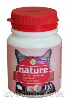 Vitomax Nature Поливитаминный комплекс для кошек с кроликом