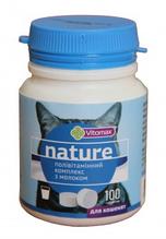 Vitomax Nature Полівітамінний комплекс для кішок з молоком