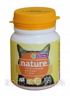 Vitomax Nature Поливитаминный комплекс для кошек с сыром