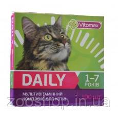 Vitomax Мультивитаминный комплекс Daily для котов от 1 до 7 лет, фото 2